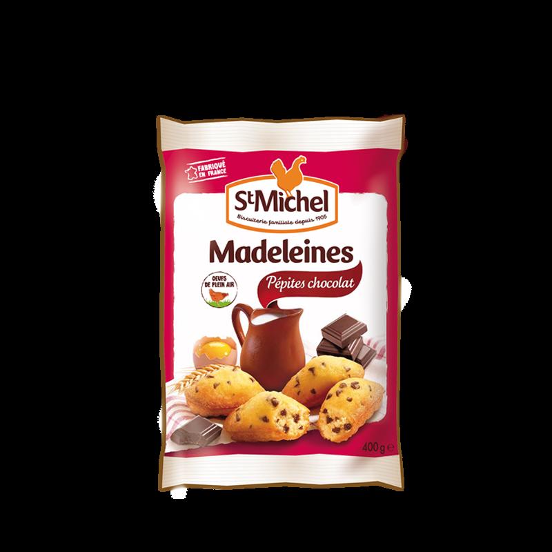 madeleines aux p pites de chocolat atelier st michel. Black Bedroom Furniture Sets. Home Design Ideas