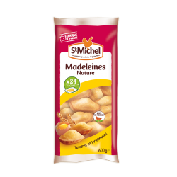 Madeleines natures sachet individuel St Michel - 600g