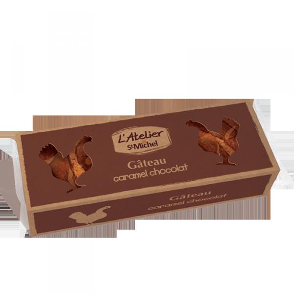 Gâteau caramel chocolat Atelier St Michel - 370g