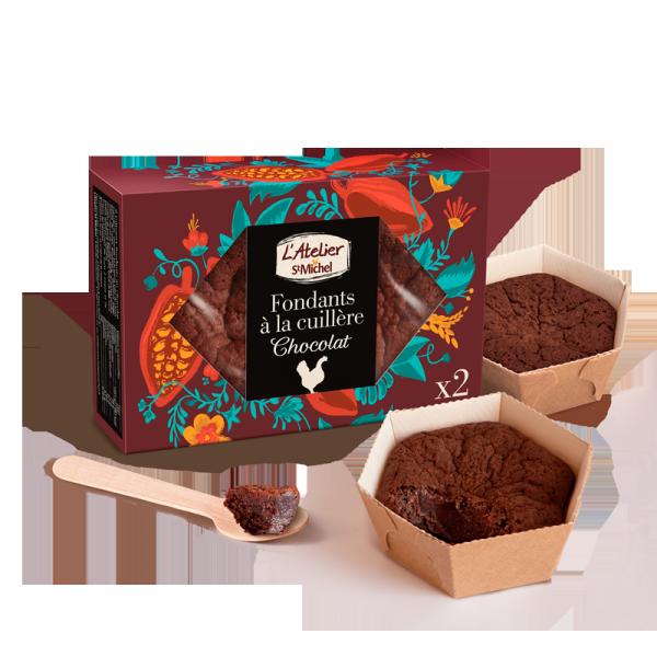 Fondant chocolat à la cuillère L'Atelier St Michel