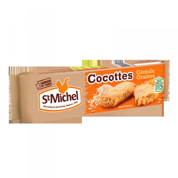 Cocottes céréales et graines St Michel - 140g
