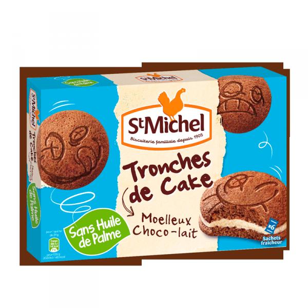 Tronches de Cake chocolat - lait