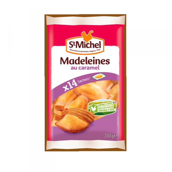 Madeleines au caramel St Michel