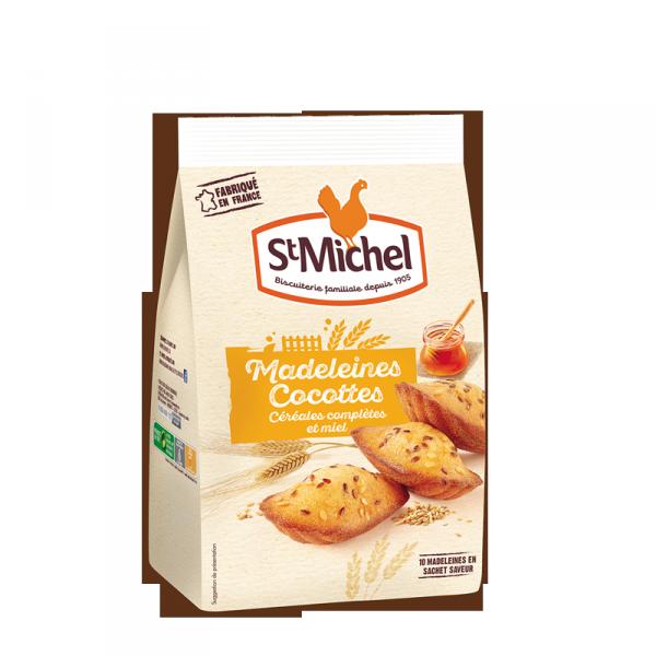 Madeleines Cocottes céréales complètes et miel