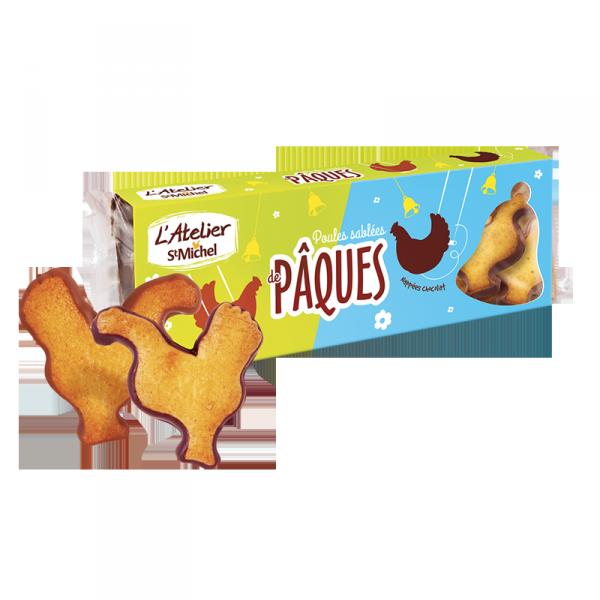 Poules sablées de Pâques