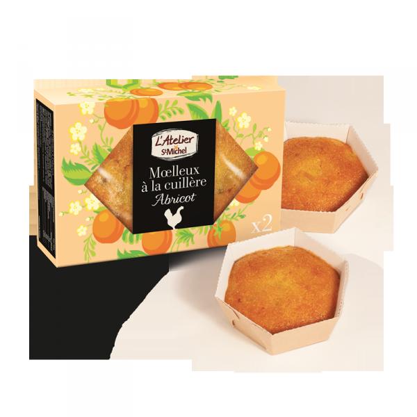 Moelleux à la cuillère abricot