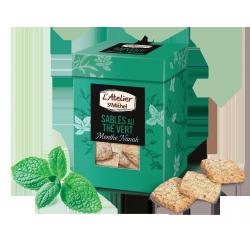 Sablés thé vert menthe Nanah