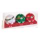 Coffret 3 boules de Noël
