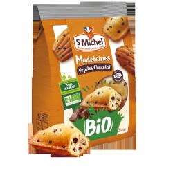 Madeleines pépites chocolat BIO