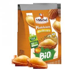 Madeleines moelleuses BIO