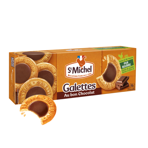 Galettes chocolat St Michel