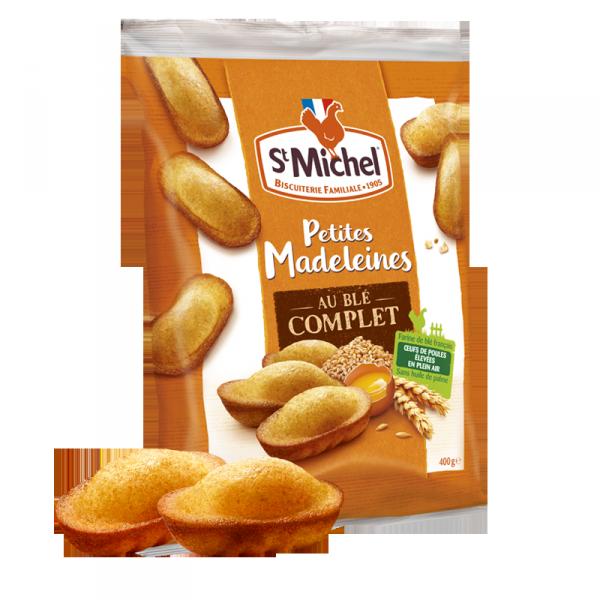 Petites madeleines au blé complet St Michel