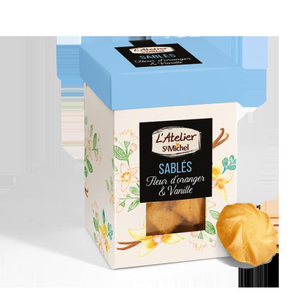 Sablés fleur d'oranger et vanille