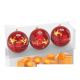Coffret 3 boules Noël 2019