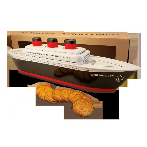 Boite paquebot Normandie