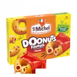 Doonuts fourrés fraise 180g