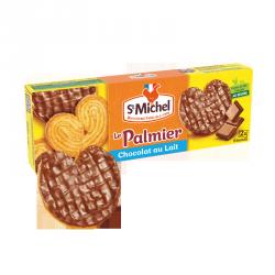 Le Palmier nappé chocolat lait
