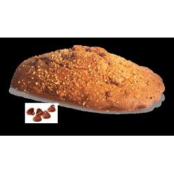 Madeleine géante praliné et pépites de chocolat