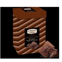 Petits financiers chocolat pépites