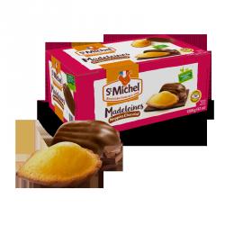 Madeleines nappées au chcolat