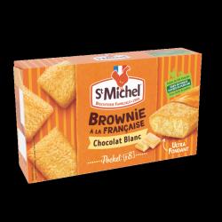 Cocottes mini brownie blanc St Michel