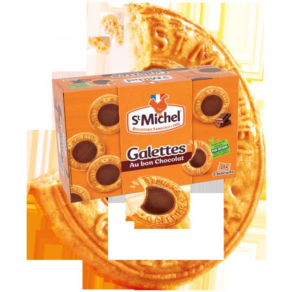 Boite galette au bon chocolat STM 756G