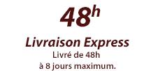 livraison express 48h